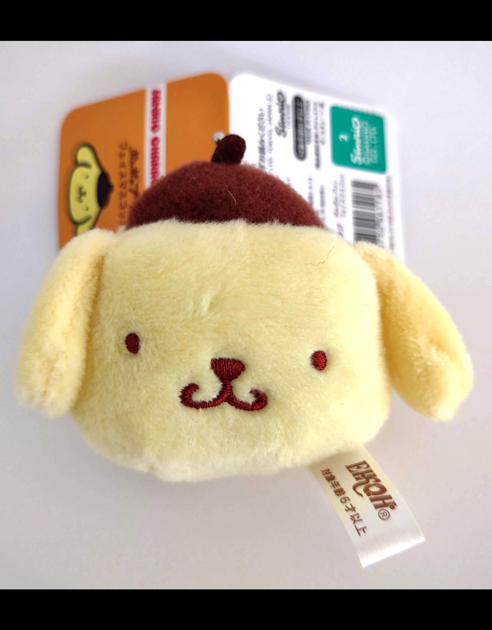 Sanrio Characters - Plush Face Mascot Keychain - Pompompurin - 5 cm