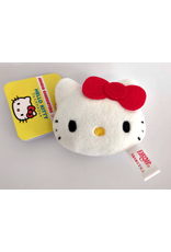 Sanrio Characters - Plush Face Mascot Keychain - Hello Kitty - 5 cm