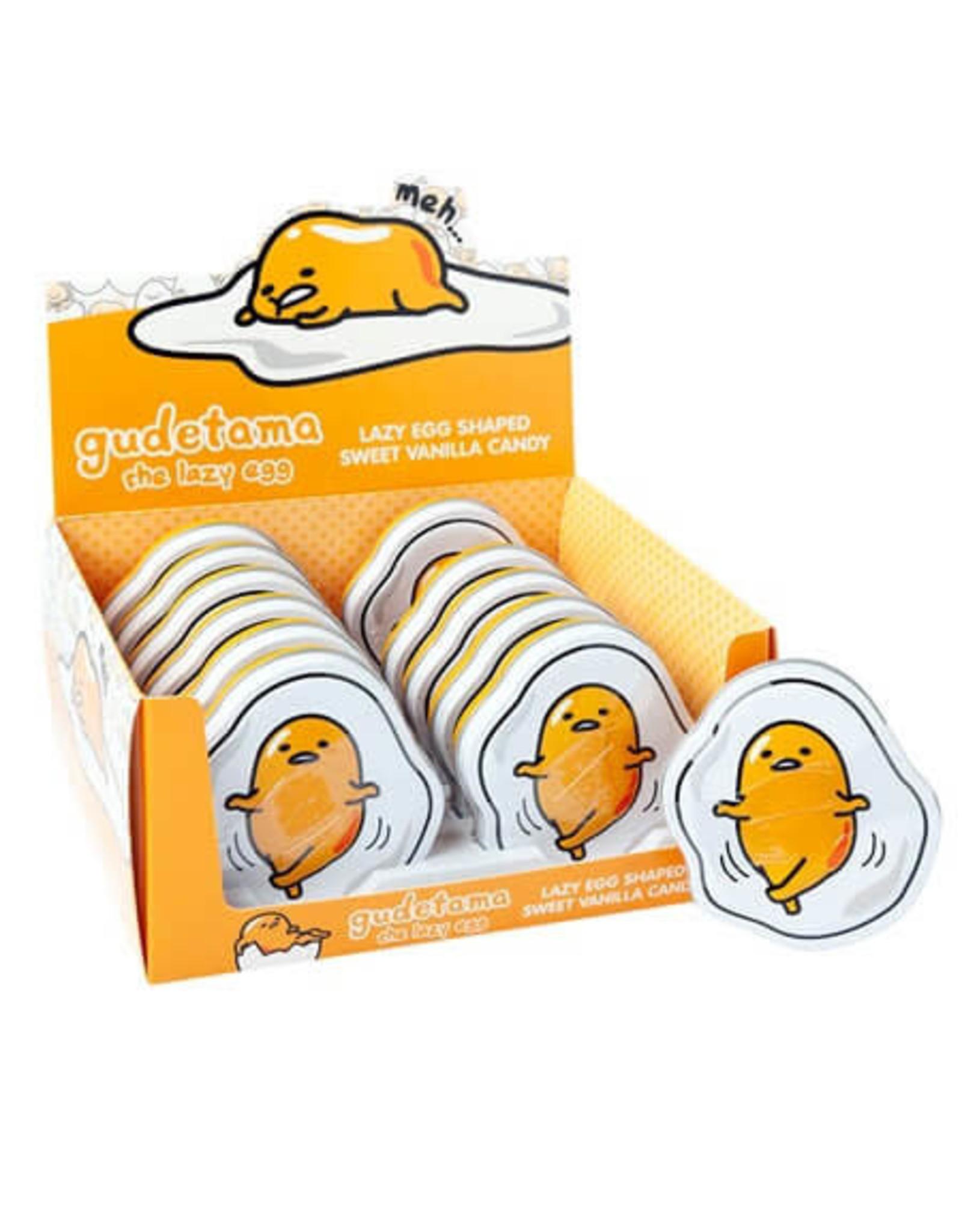 Gudetama Candy Tin - Lazy Egg Tin - 43g