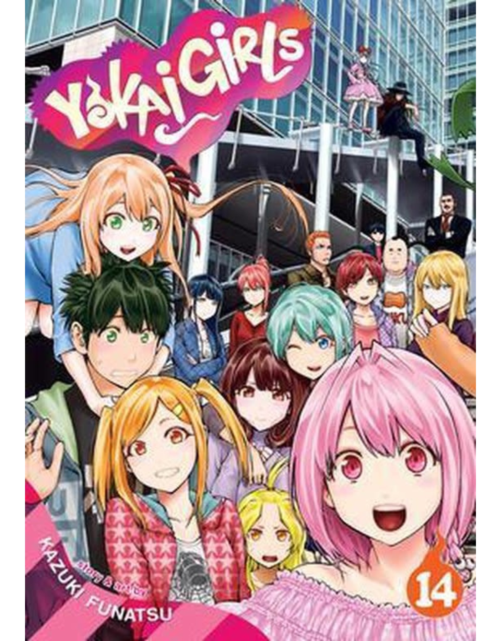 Yokai Girls 14 (Engelstalig) - Manga