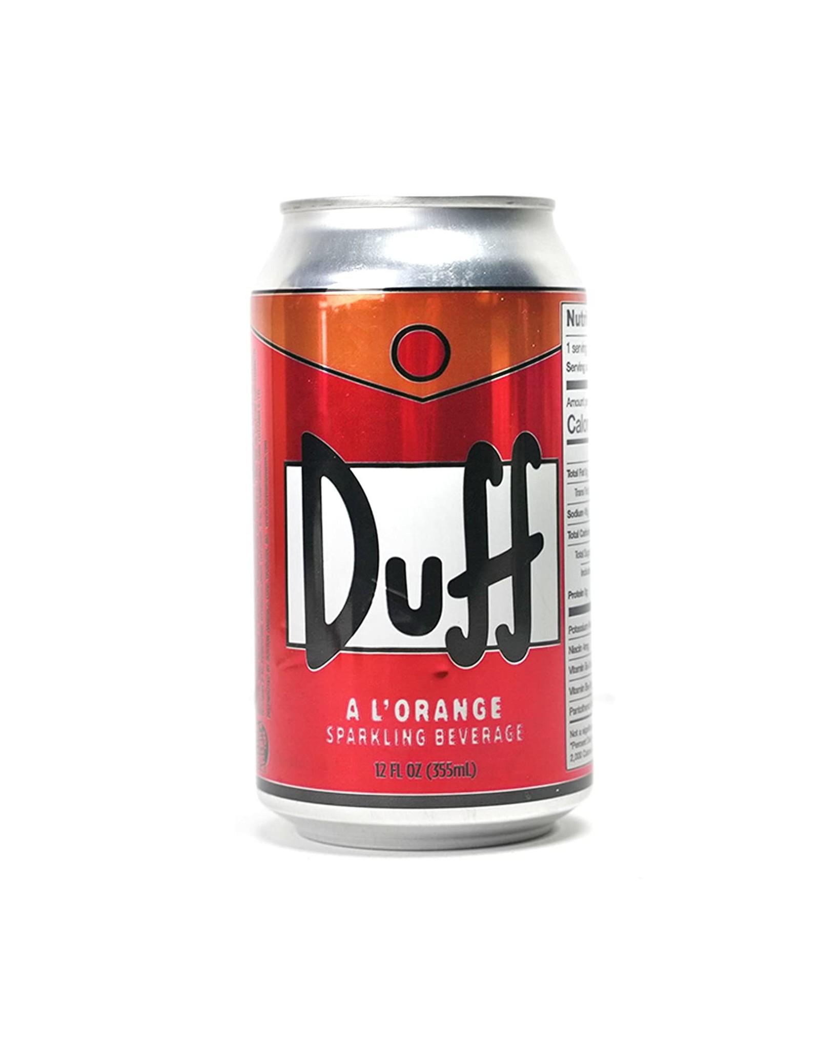 Duff a l'orange Soda - The Simpsons - 355ml