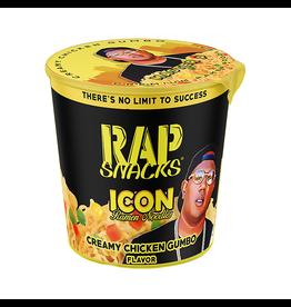 Rap Snacks - Icon Ramen Noodles - Creamy Chicken Gumbo Flavor -64g