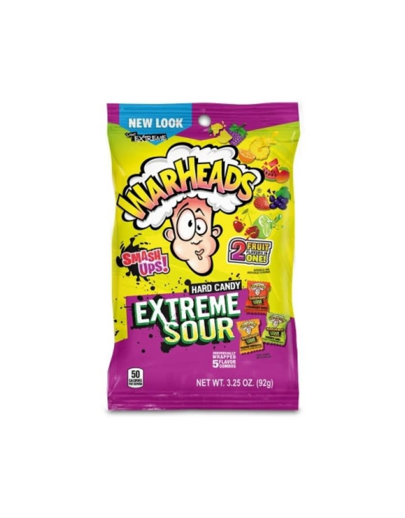 Warheads - Extreme Sour Hard Candy - 56g