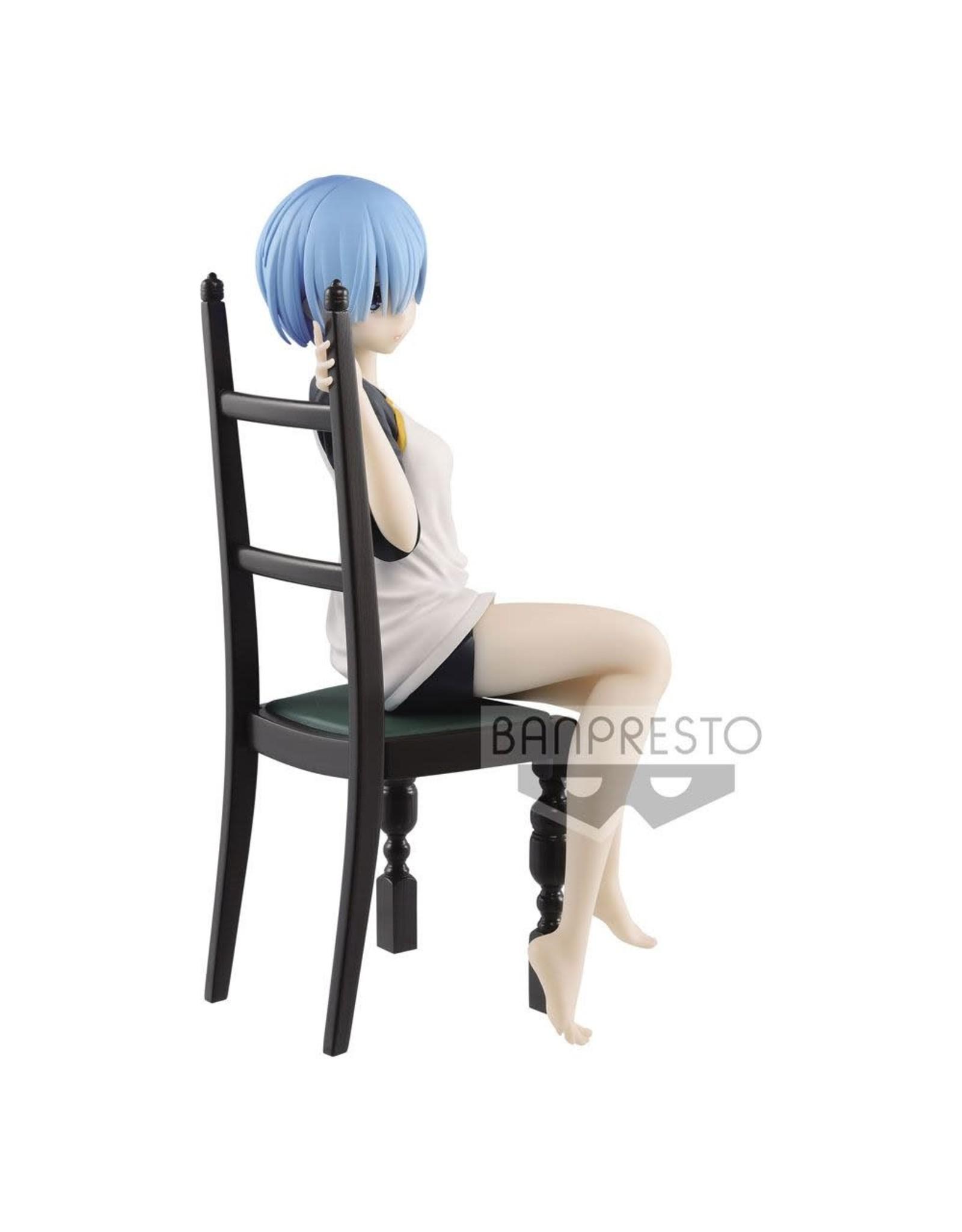 Re: Zero - Rem - Relax Time T-Shirt Version - PVC Statue - 20 cm