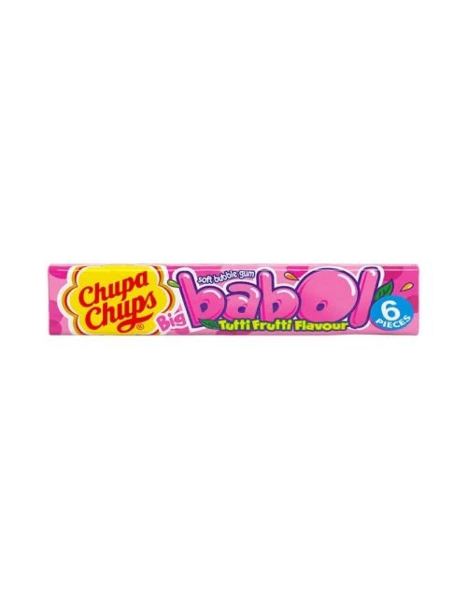 Chupa Chups Big Babol Bubblegum - Tutti Frutti Flavour - 27,6g