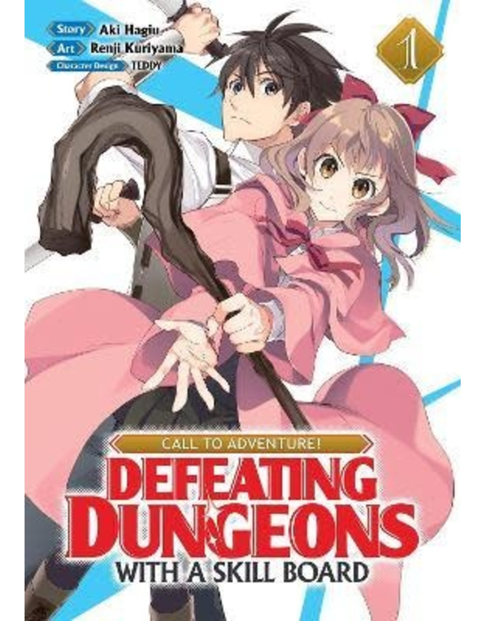 Call To Adventure: Defeating Dungeons With A Skill Board 01  (Engelstalig) - Manga