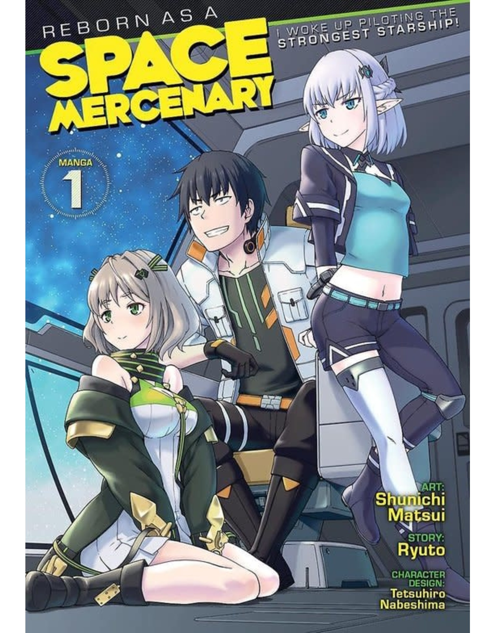Reborn As A Space Mercenary 01 (Engelstalig) - Manga