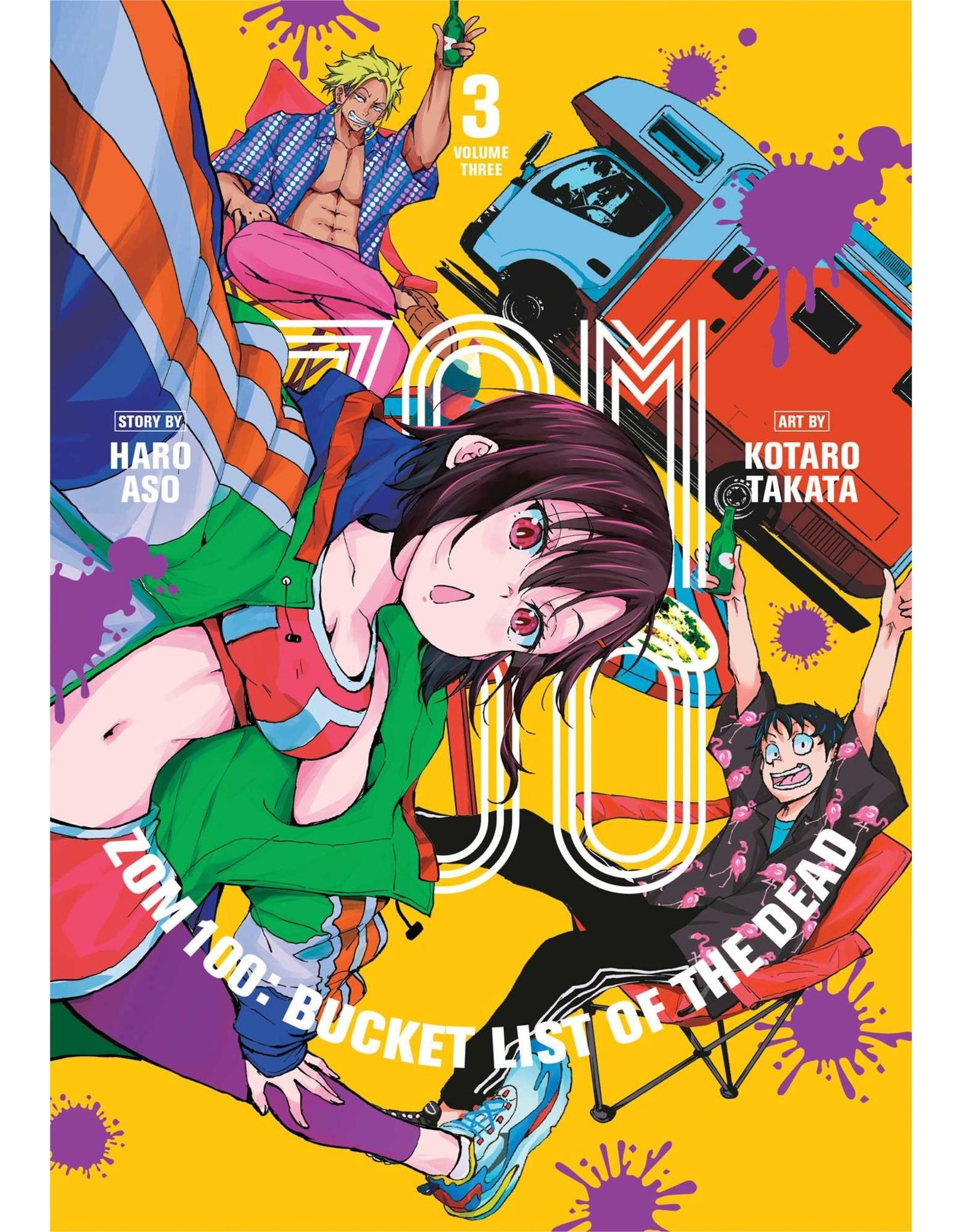 Zom 100: Bucket List Of The Dead 3 (Engelstalig) - Manga