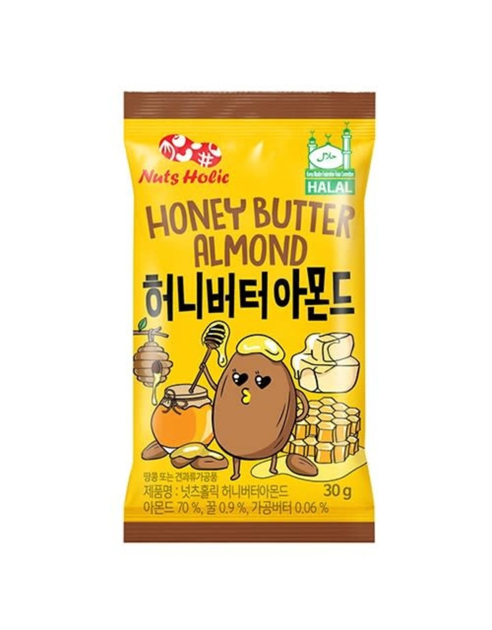 NutsHolic - Honey Butter Almonds - 30g
