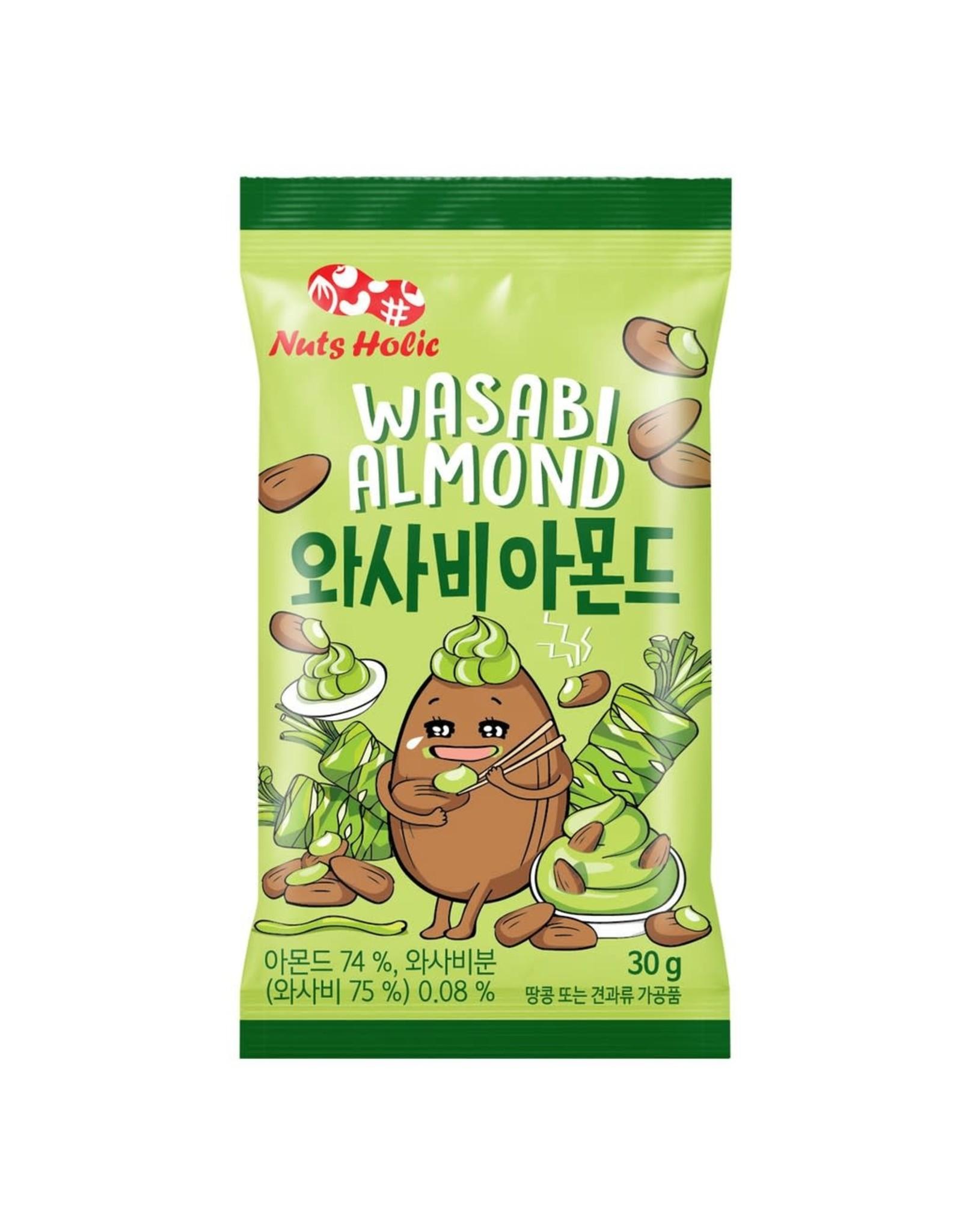 NutsHolic - Wasabi Almonds - 30g