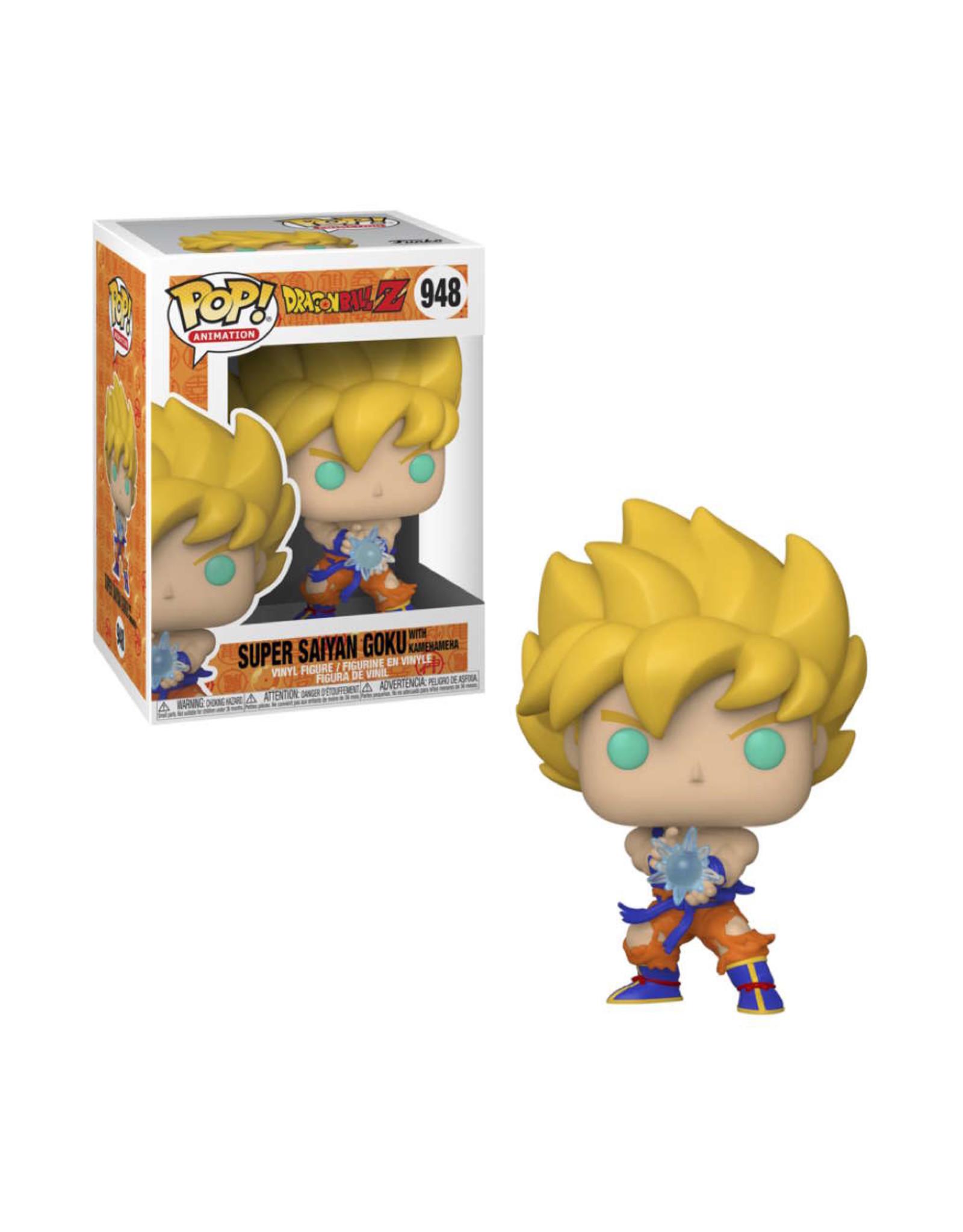 Dragon Ball Z - Super Saiyan Goku with Kamehameha - Funko Pop! Animation 948