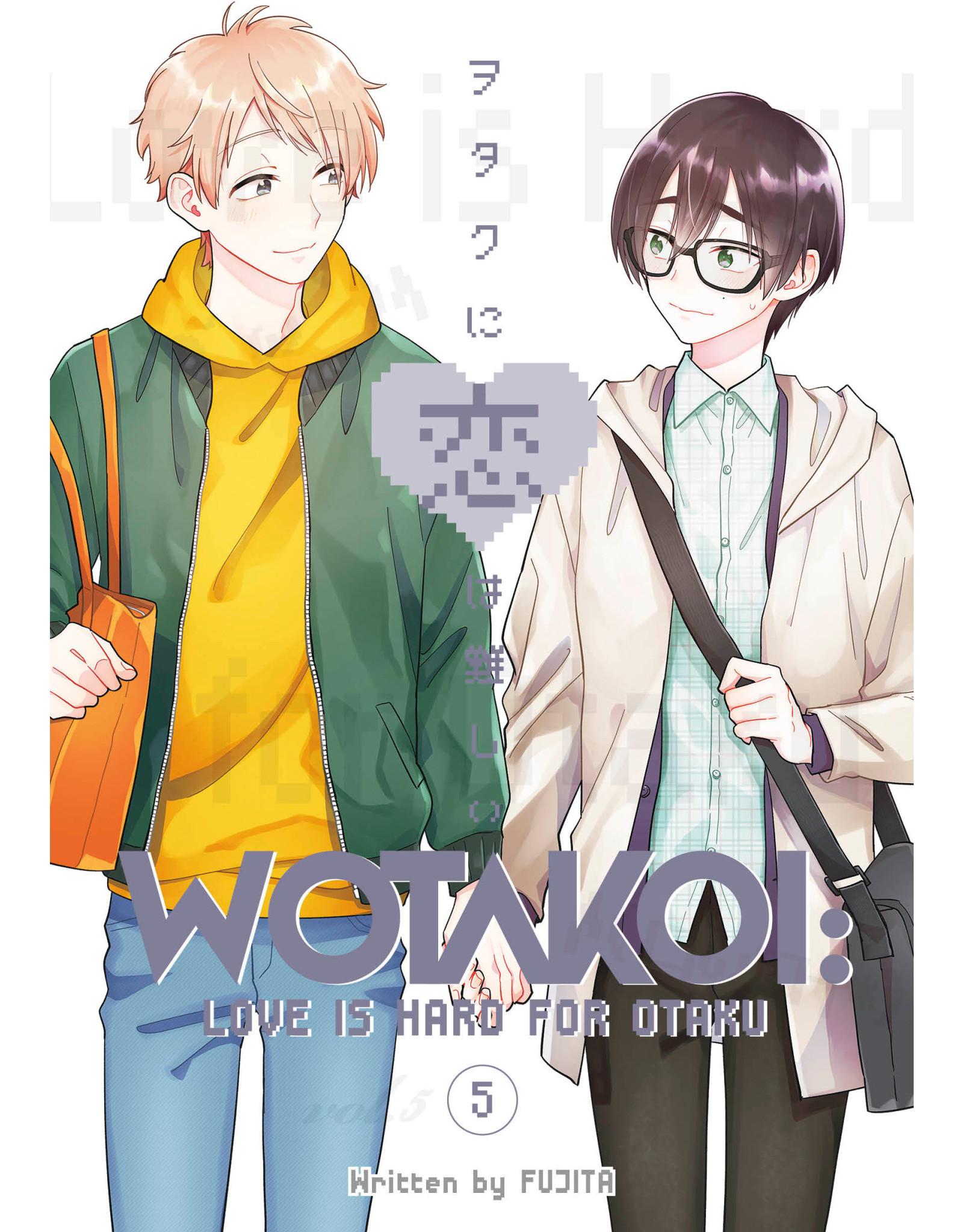 Wotakoi: Love is Hard for Otaku 5 (Engelstalig) - Manga