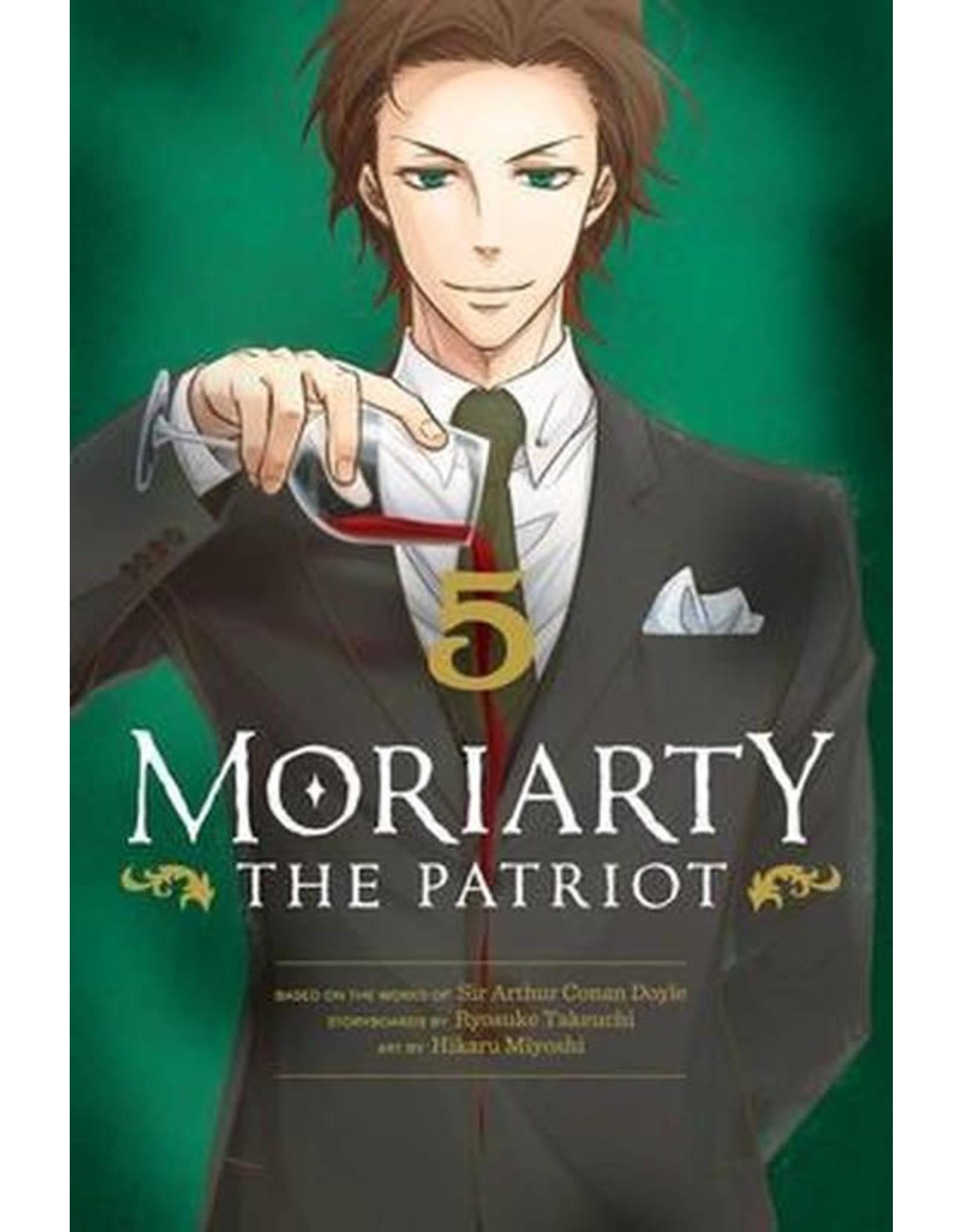 Moriarty The Patriot 5 (Engelstalig) - Manga