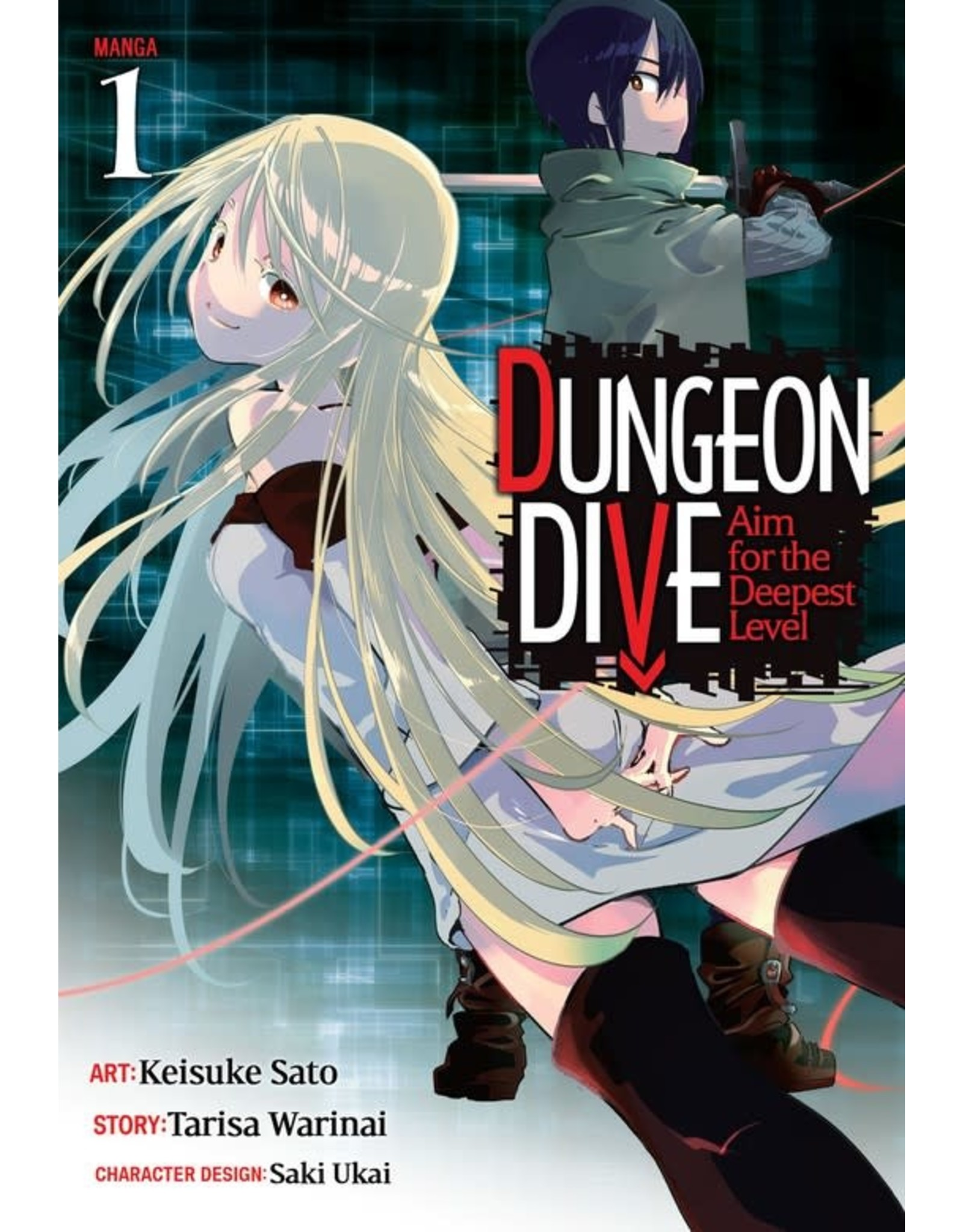Dungeon Dive: Aim for the Deepest Level 1 (Engelstalig) - Manga