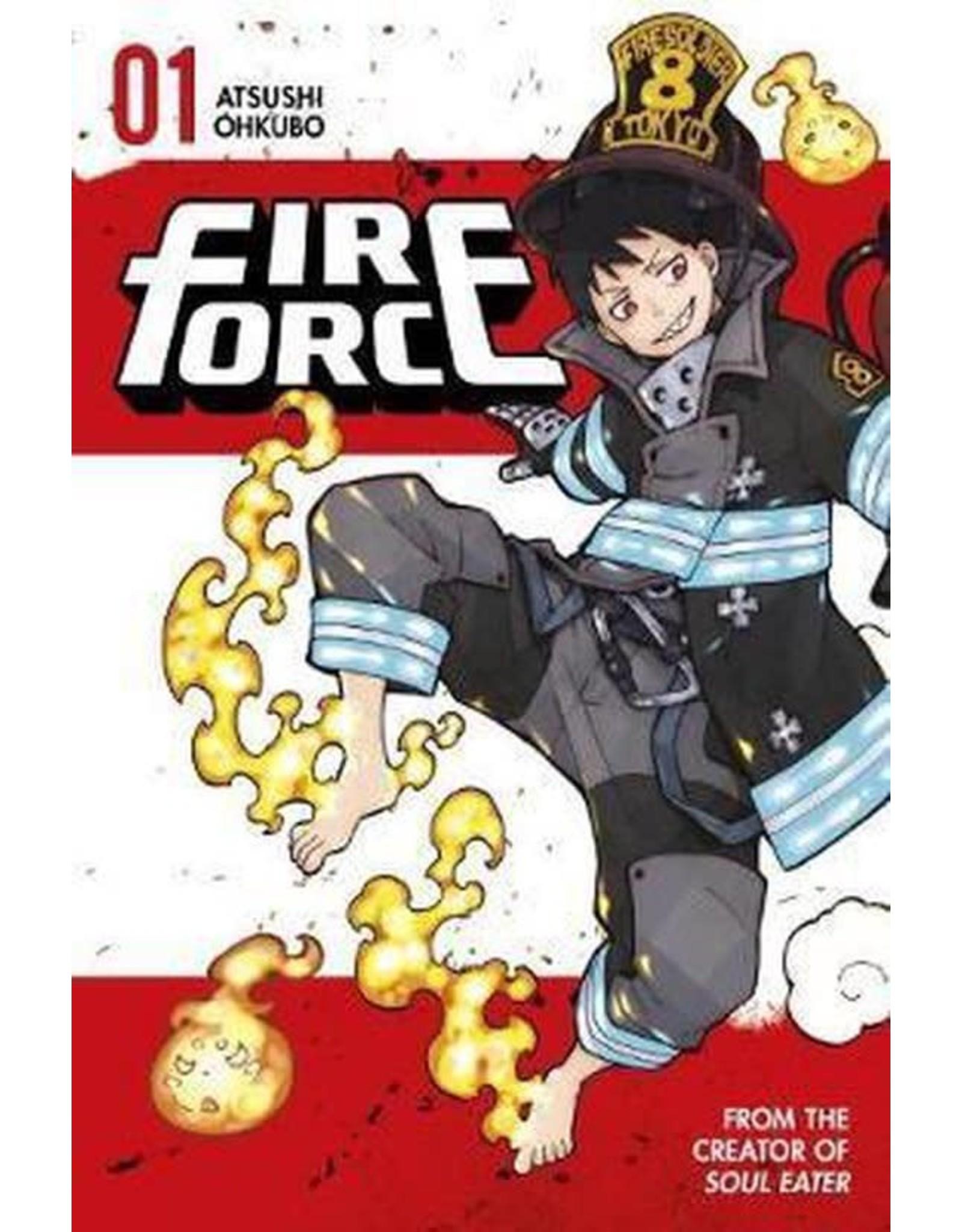 Fire Force 01 (Engelstalig) - Manga