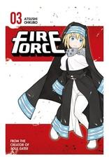 Fire Force 03 (Engelstalig) - Manga