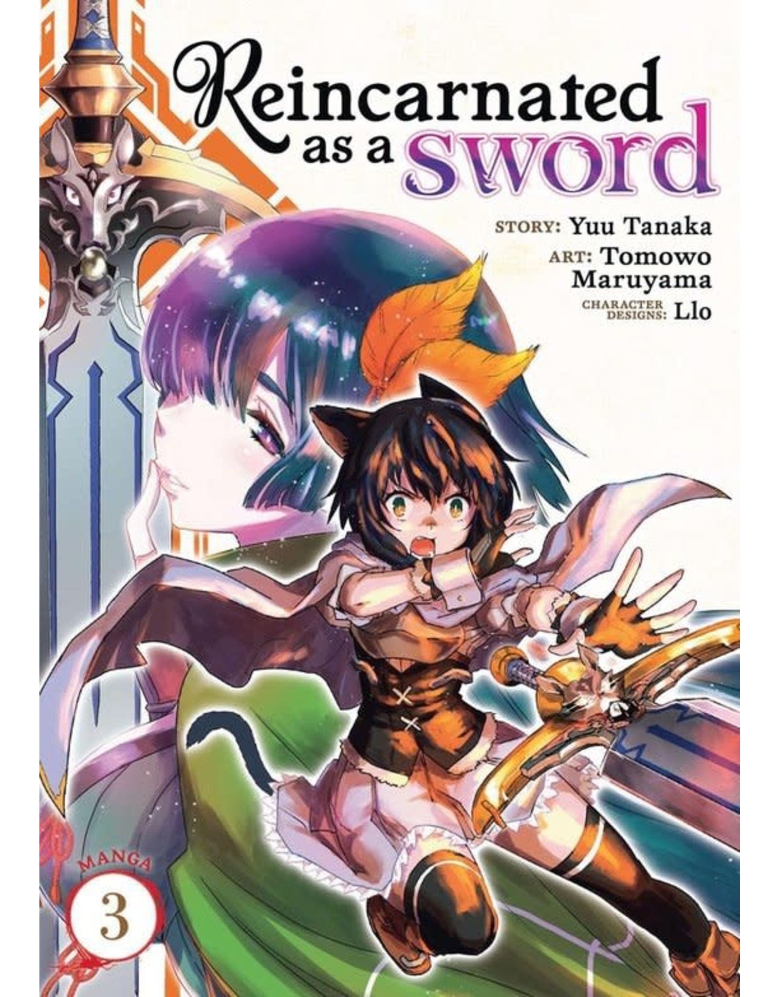 Reincarnated as a Sword 3 (Engelstalig) - Manga