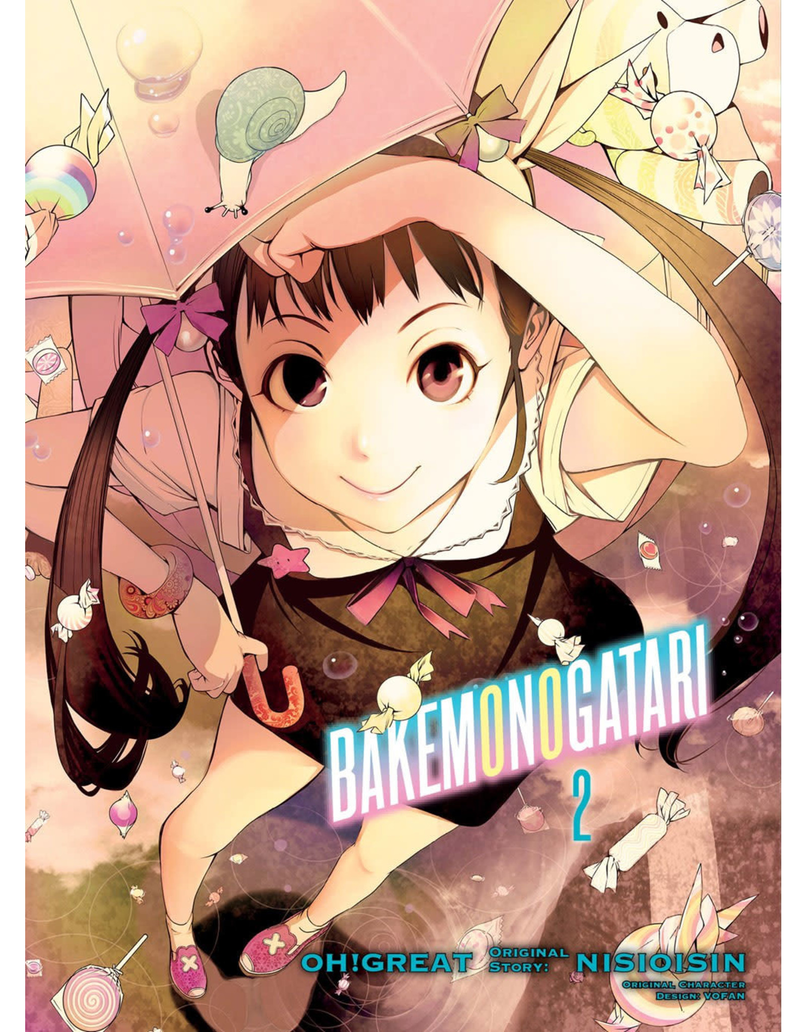 Bakemonogatari 2 (Engelstalig) - Manga