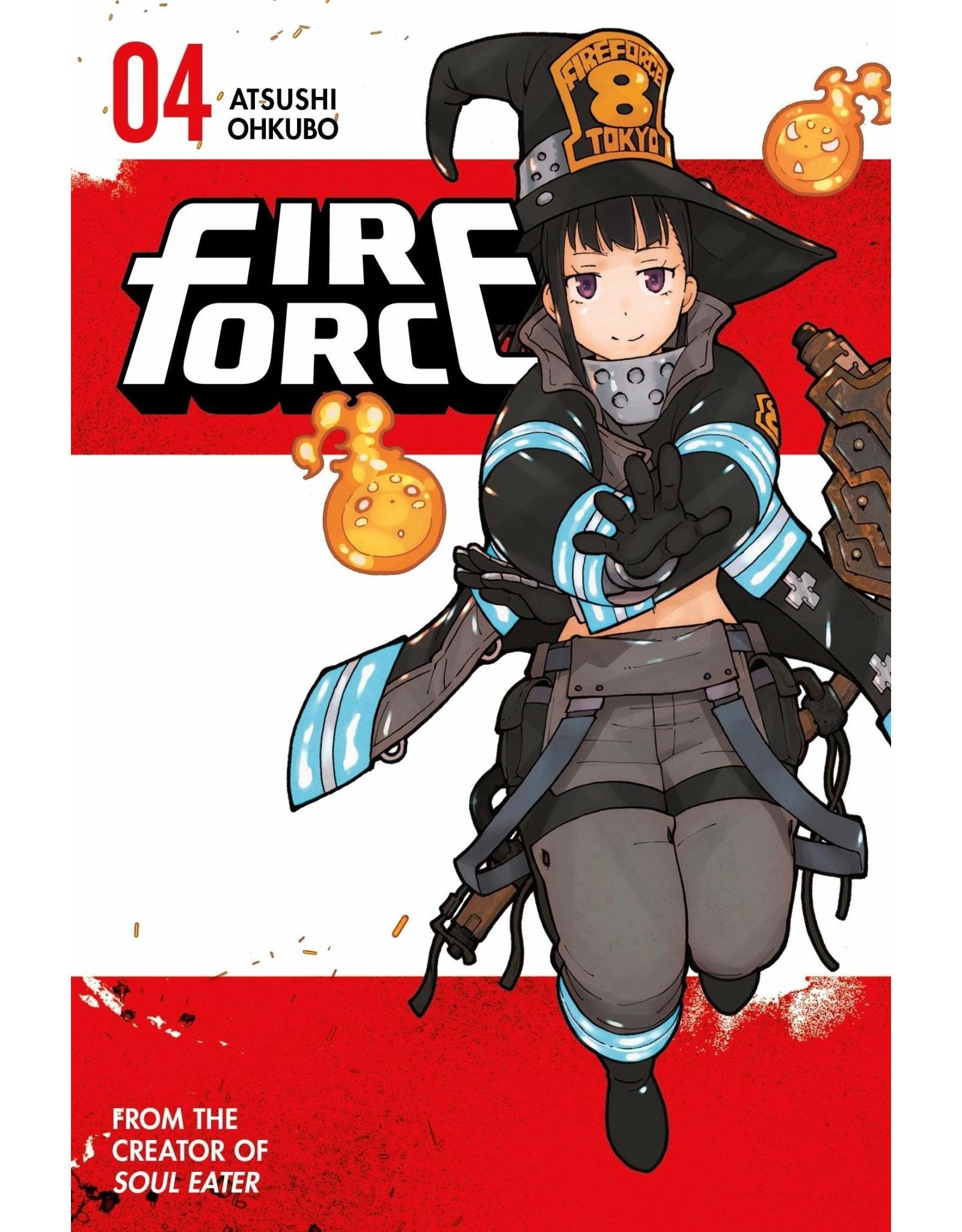 Fire Force 04 (Engelstalig) - Manga