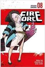 Fire Force 08 (Engelstalig) - Manga