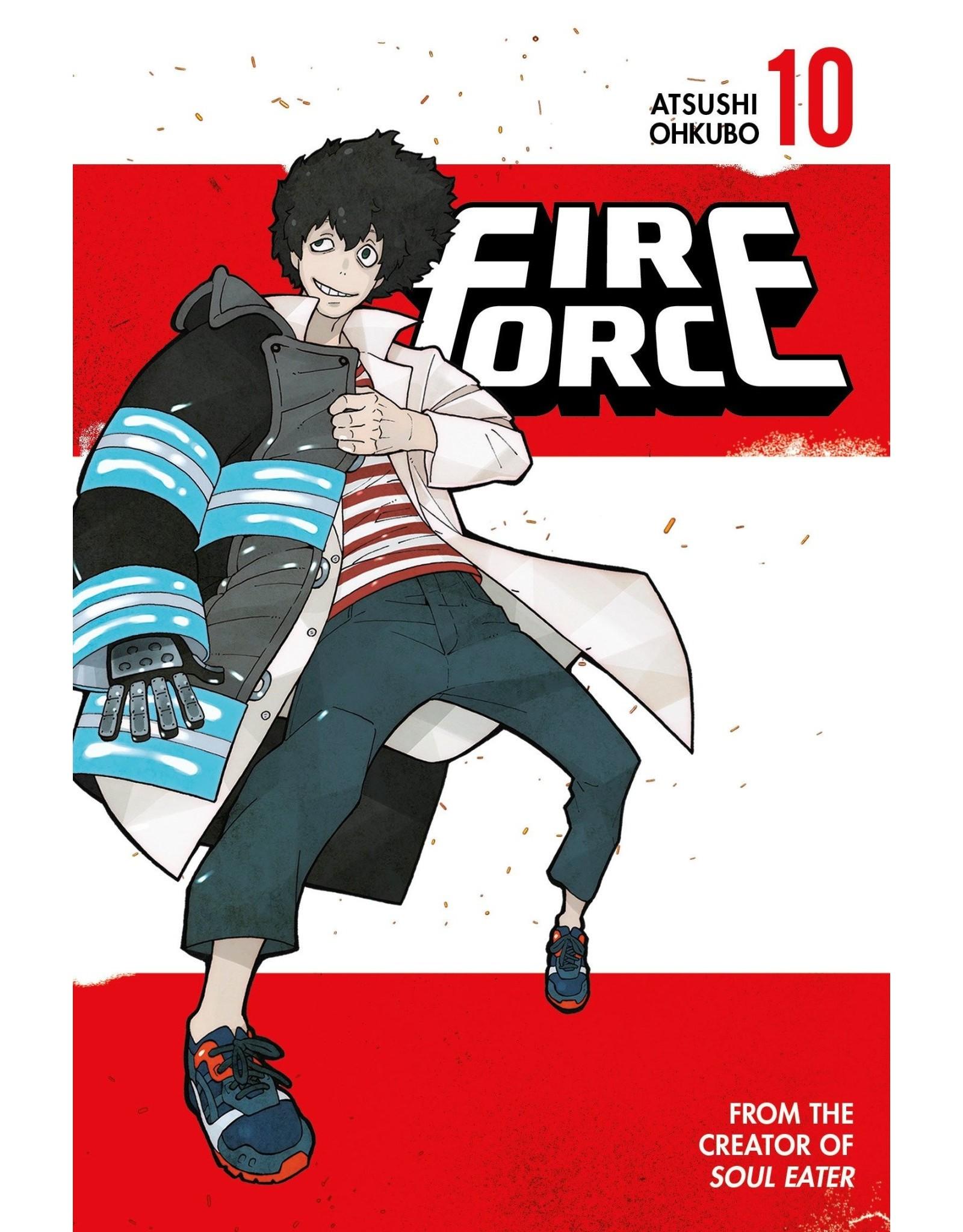 Fire Force 10 (Engelstalig) - Manga