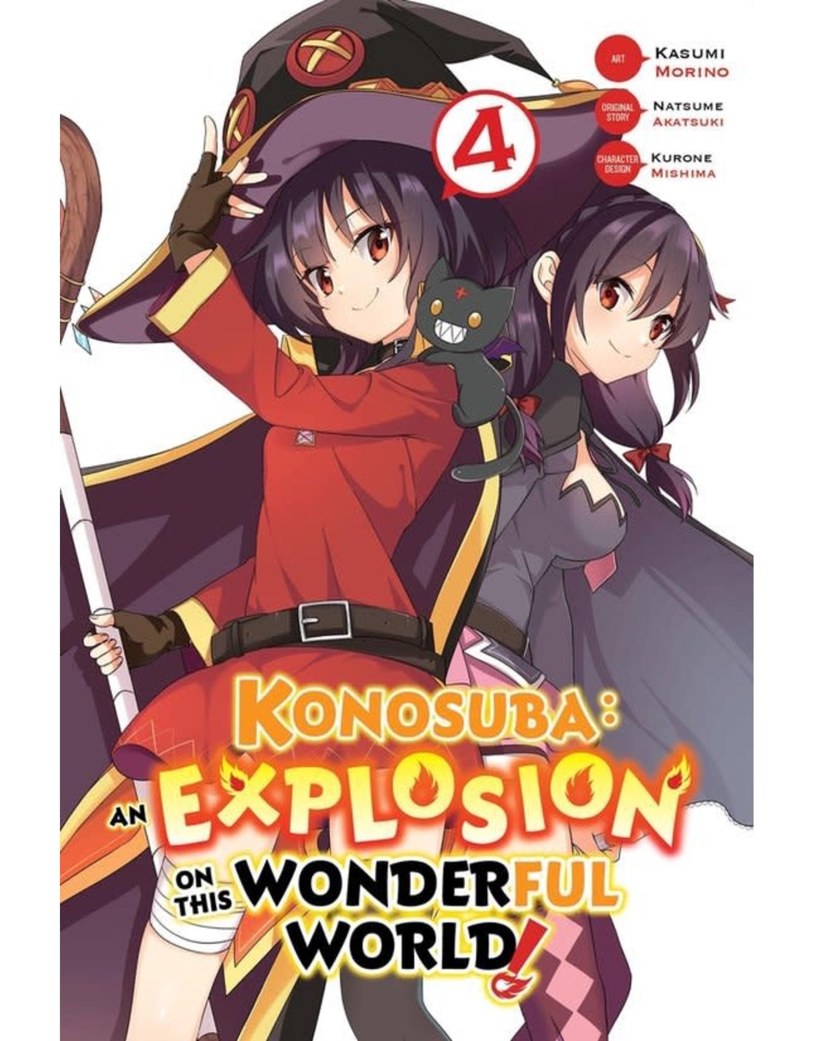 Konosuba: An Explosion On This Wonderful World! 4 (Engelstalig) - Manga