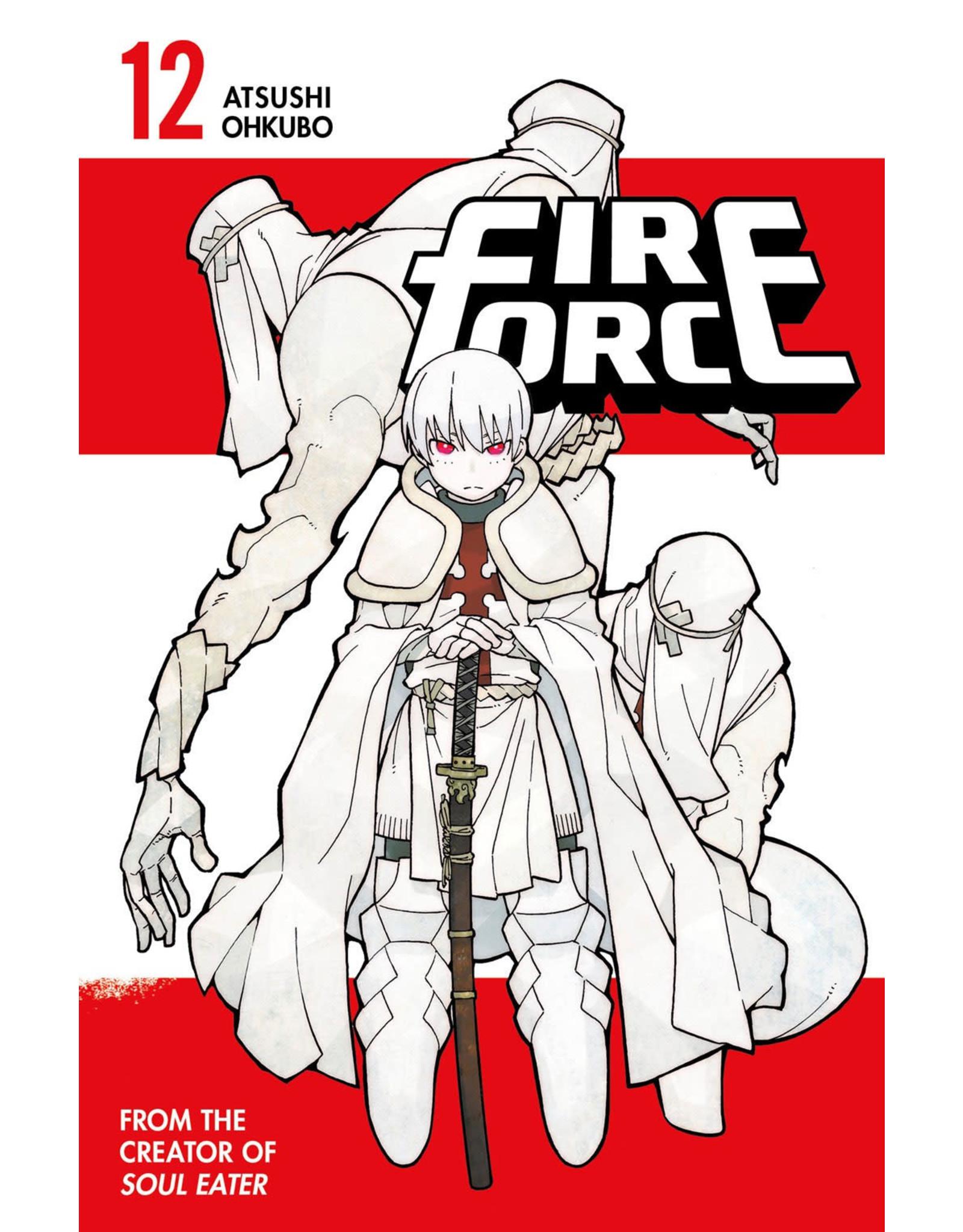 Fire Force 12 (Engelstalig) - Manga