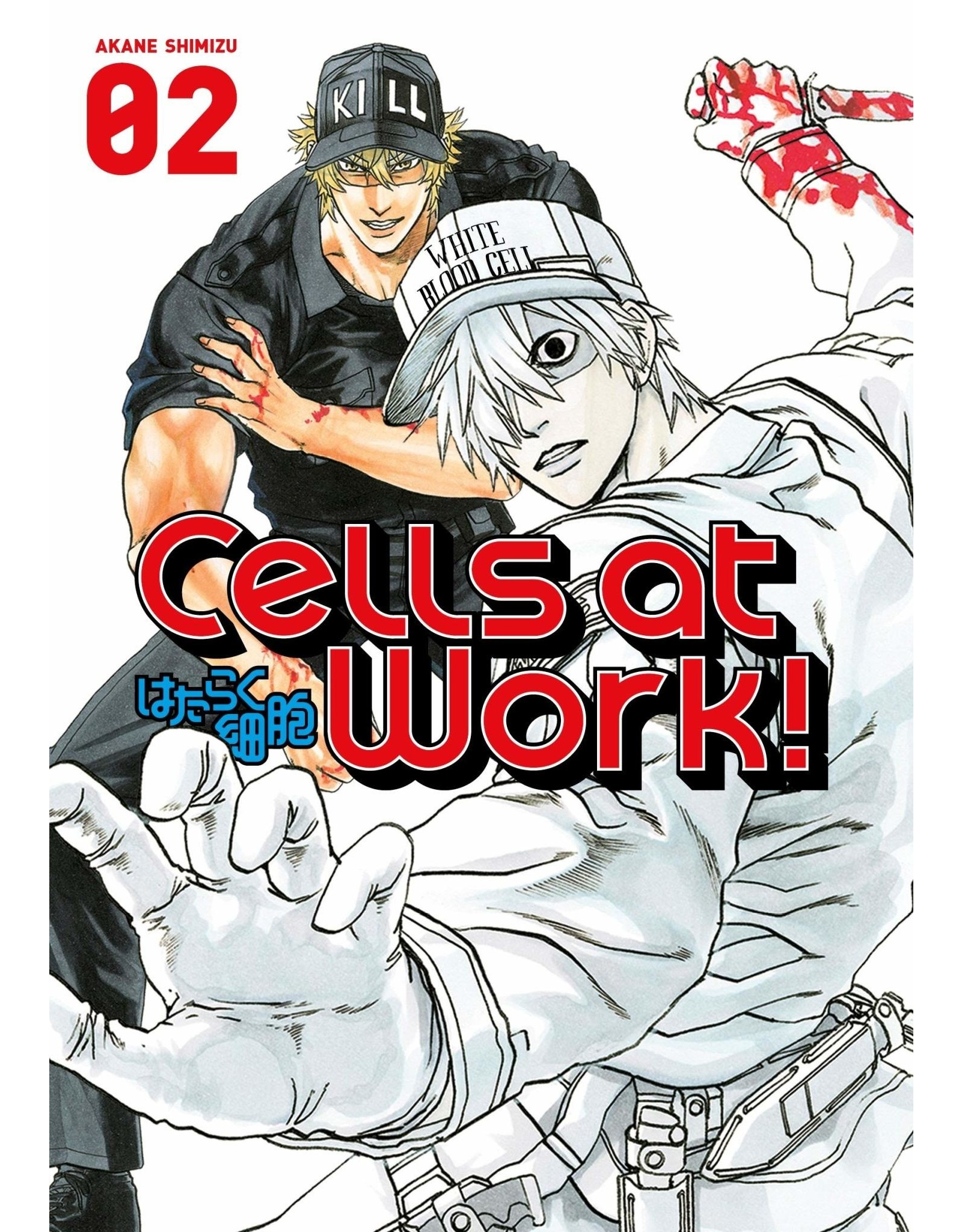 Cells At Work 02 (Engelstalig) - Manga