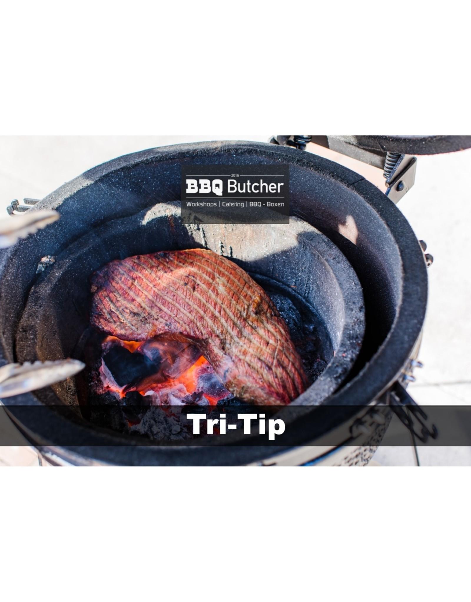 BBQButcher.nl Black Angus Tri-Tip - Graangevoerd - 1kg