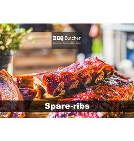 BBQButcher.nl Spareribs - 1 kg