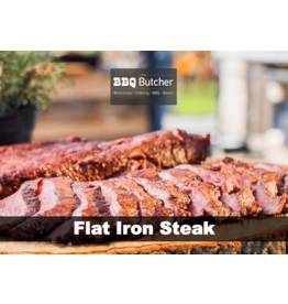 BBQButcher.nl Black Angus Flat Iron Steak - 500 gram
