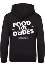 "BBQButcher.nl Hoodie ""Food for Dudes"""
