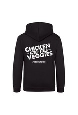 "BBQButcher.nl Hoodie ""Chicken are my Veggies"""