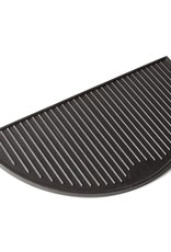 Keij Kamado® Gietijzeren grillplaat, half rond - XXL 55 cm