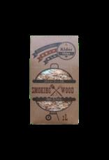 EcoWoodBBQ Rookhout chips ALDER - 2 Liter