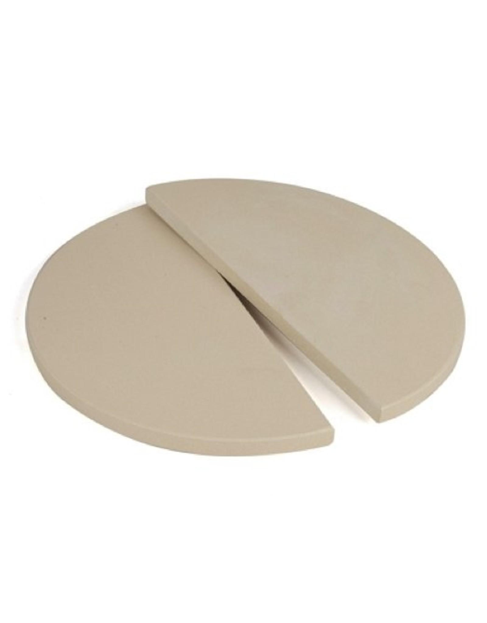 Keij Kamado® Set half moon plates 38 cm.