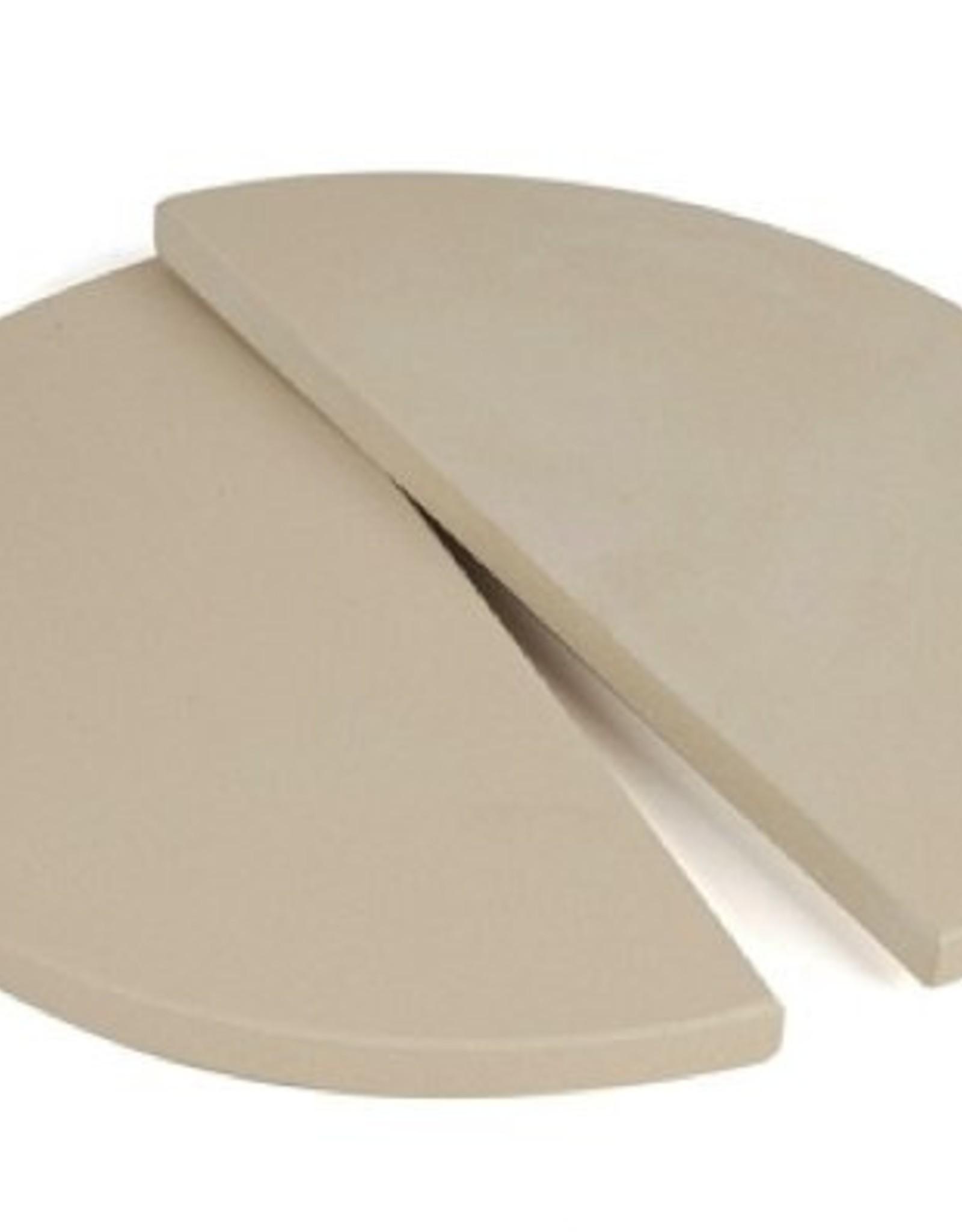 Keij Kamado® Set half moon plates 30,5 cm.