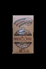 EcoWoodBBQ Rookhout pellets APPEL - 2 Liter