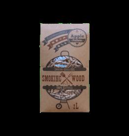 EcoWoodBBQ Rookhout pellets APPLE - 2 Liter