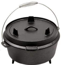 Keij Kamado® Dutch Oven 3,8 liter met pootjes