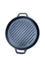 Keij Kamado® Gietijzeren grillpan - 30 cmGietijzeren grillpan - 30 cm - pre seasoned