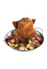 Keij Kamado® Chickensitter met grillmand- rvs
