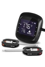 Keij Kamado® Bluetooth BBQ thermometer - 2 probes - 6 poorten