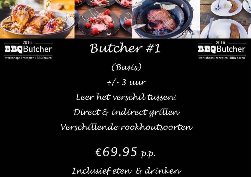 Butcher #1 BBQ workshop