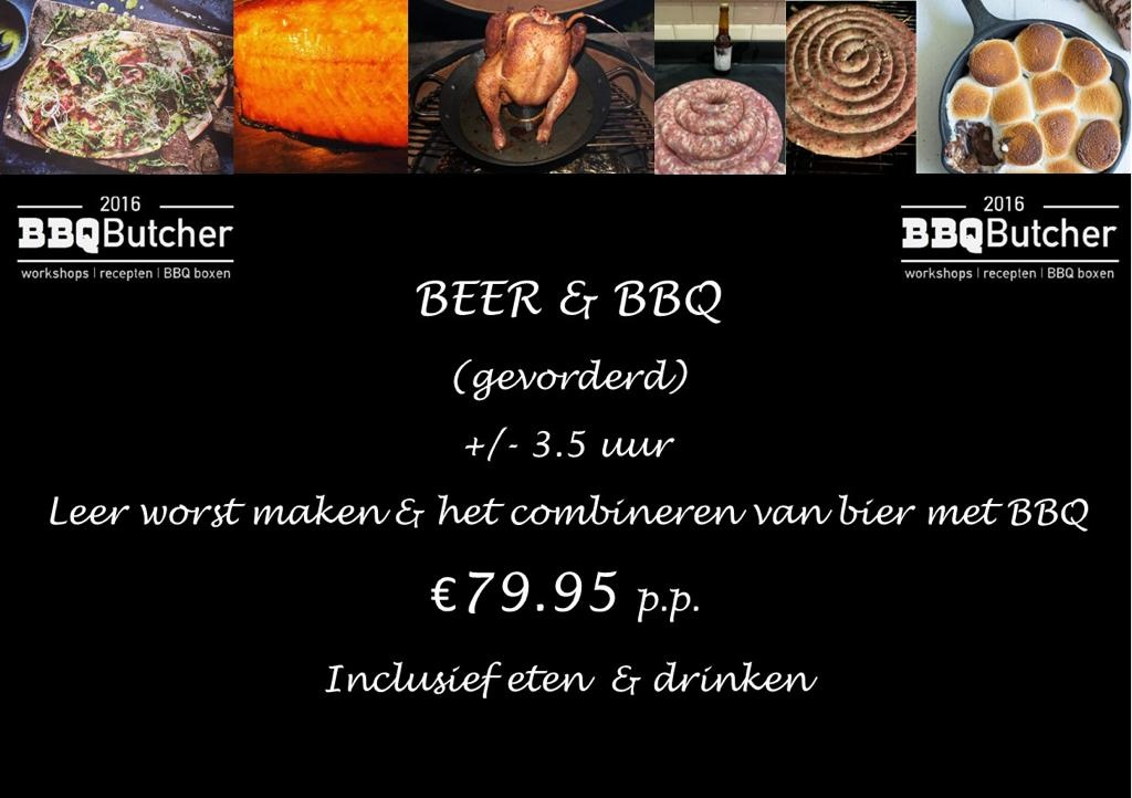 Beer & BBQ Workshop