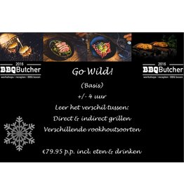 """BBQButcher.nl BBQ Workshop - """"Go Wild"""" -  13-10-2021"""