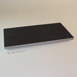 SieMatic Legplank met Flock2Block voor onderkasten en hoge serviceskasten.