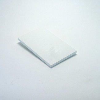 SieMatic Legplank voor bovenkasten, voorzijde wit