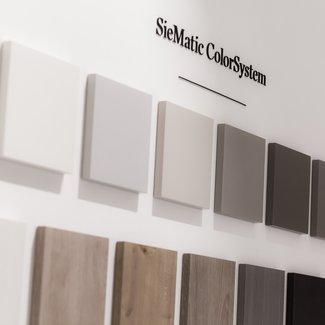 SieMatic Kleurstaal kunststof mat