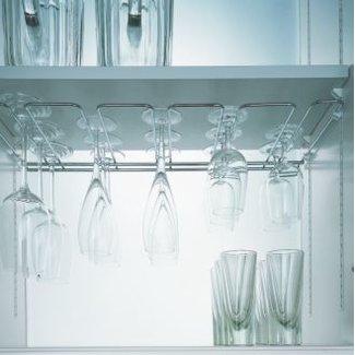 SieMatic Wijnglazen rek voor SieMatic bovenkasten met binnediepte 34cm (niet voor 50cm diepe servieskasten)
